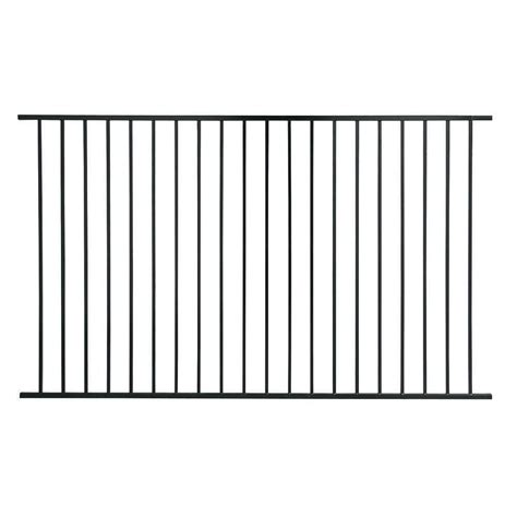 metal fence metal fencing fencing the home depot