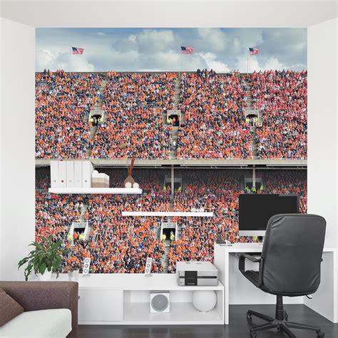 stadium wall mural orange stadium wall mural