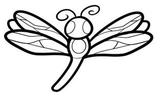 dragonfly coloring page dragonfly pictures to print az coloring pages