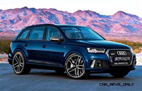 Audi Q7 Rs by Future Suv Renderings 2016 Audi Rs Q7 8