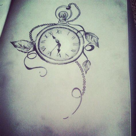 small pocket watch tattoo pocket tattooo count jade