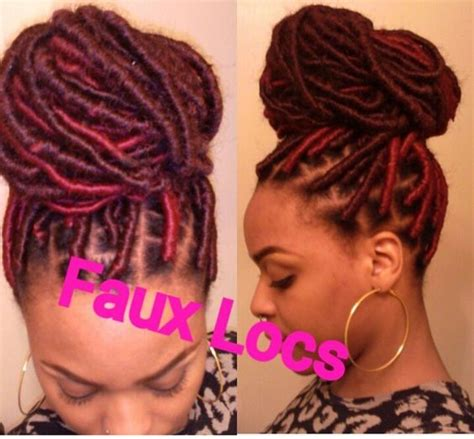 color 99j in marley hair faux locs 99j and burg marley hair faux locs goddess