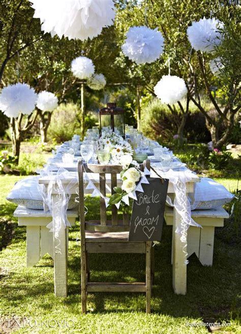 decoracion jardines para bodas decoraci 243 n de bodas en jard 237 n 161 31 originales y sencillas