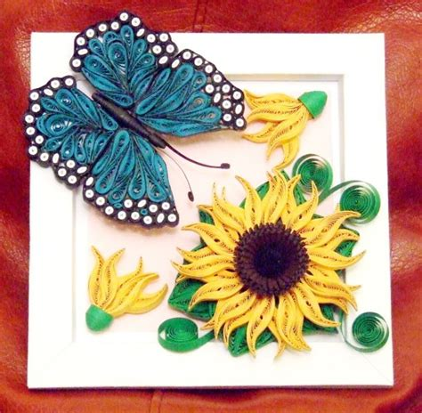 quilling sunflower tutorial 1000 images about quilling sunflowers on pinterest