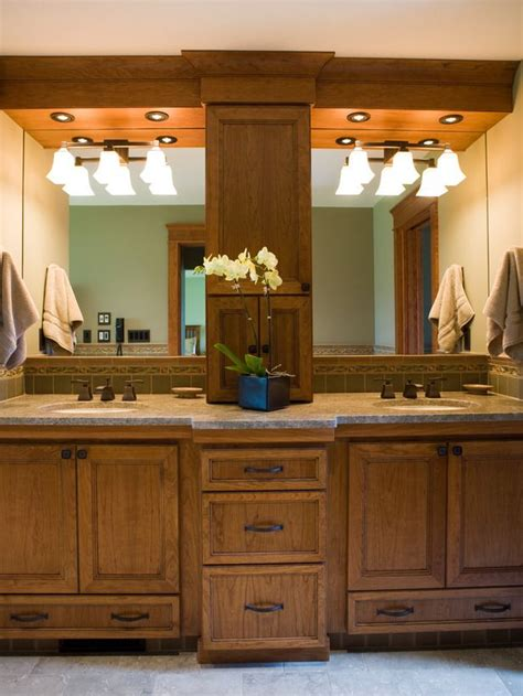 master bathroom vanity ideas cabinet in the middle different color cabinets