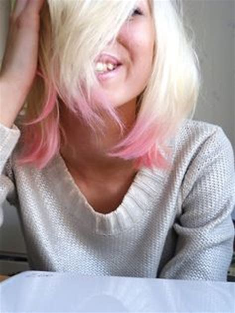 long bob with dipped ends hair 1000 ideas about pink dip dye on pinterest dip dyed