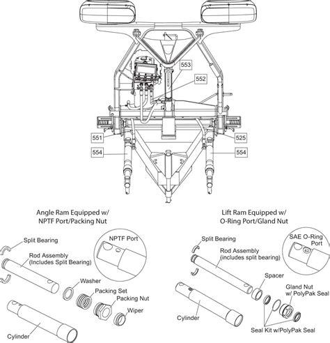 sno way plow for skid steer wiring diagram hiniker wire