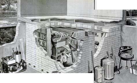 basement bomb shelter invisible themepark nuclear bomb fallout shelters