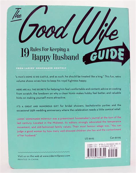good housewife guide handy stuff for the english classroom the perfect husband