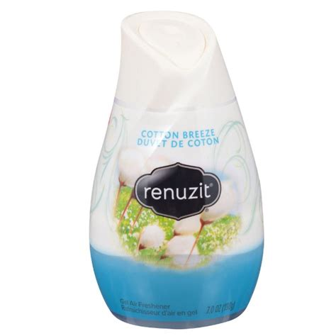 gel air freshener renuzit simply refreshed collection 7 oz cotton