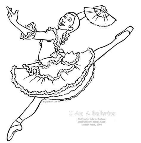 coloring pages of ballerina ballerina coloring page 1 ballet party pinterest