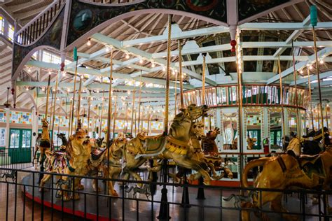 Carousel Gardens by Carousel Gardens Amusement Park New Orleans Attraction