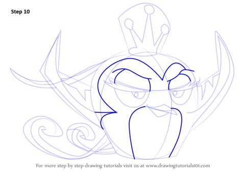Feature Step Outline by Learn How To Draw Gale From Angry Birds Angry Birds Step By Step Drawing Tutorials