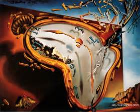 Flowers Of Evil Baudelaire - salvador dali clock melting clocks painting picture pictures
