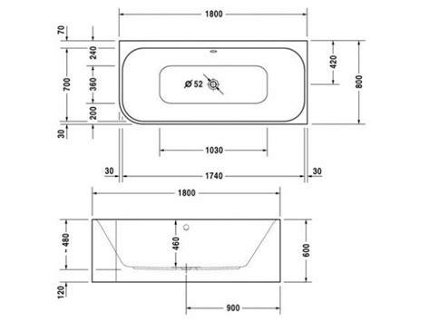 misure vasca bagno dimensione vasca da bagno ispirazione per la casa