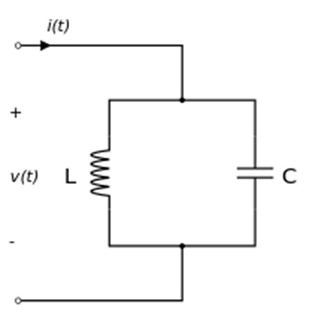 of inductor in lc tank circuit lc circuit