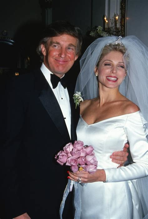 donald trump wedding donald trump and marla maples announce their separation in