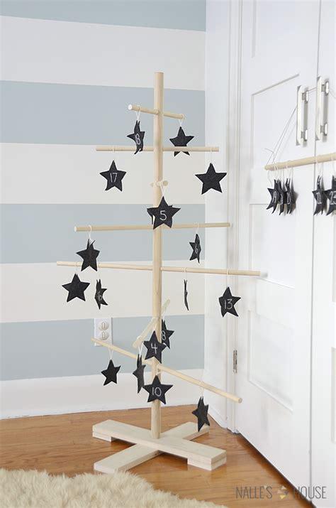 nalle s house diy danish wooden dowel tree filigrantrae