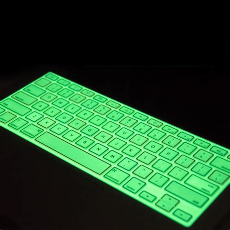 glow in the paint keyboard glow in the pigment application in household products