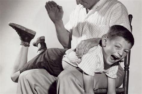 art corporal punishment by parents spanking child discipline