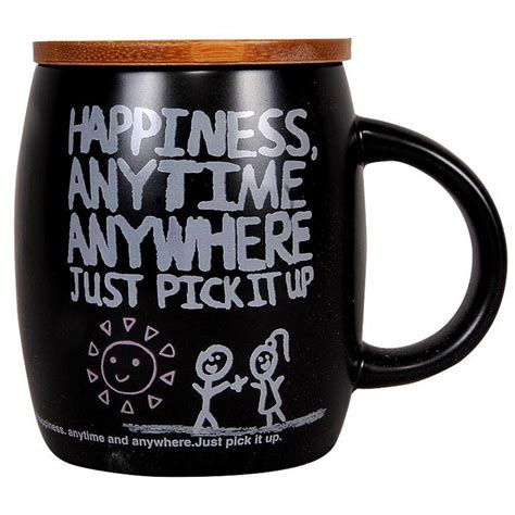 Coffee 4 Me Anytime happiness anytime anywhere coffee mug in winni in