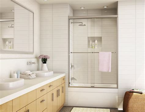 Alumax Frameless Shower Doors Sliding Shower Door Models Shower Doors Bathroom Enclosures Alumax Bath Enclosures
