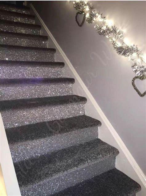 glitter wallpaper on stairs glitter carpet carpet vidalondon