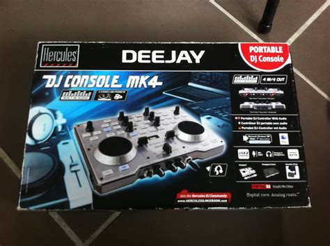 dj console mk4 dj console mk4 hercules dj console mk4 audiofanzine