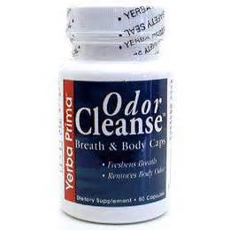 Odor Detox From by Odor Cleanse For Breath 50 Caps From Yerba Prima
