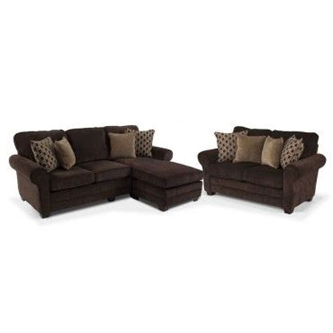 bobs furniture chaise lounge maggie chaise sofa 2 piece set chaise can be made back