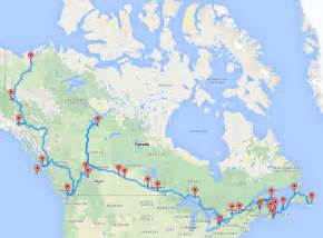 the ultimate canadian road trip as determined by an algorithm