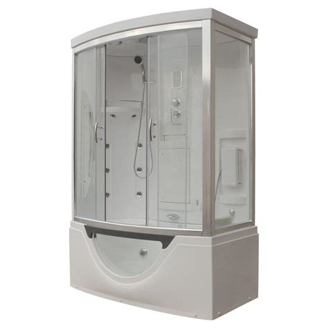 bathtub shower kit steam planet hudson 59 in x 33 in x 88 in steam shower
