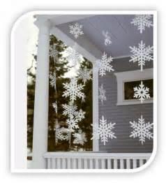 Homemade christmas decoration idea let it snow let it snow let it
