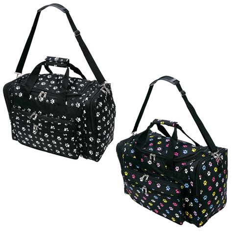 paw print duffle bag the animal rescue site