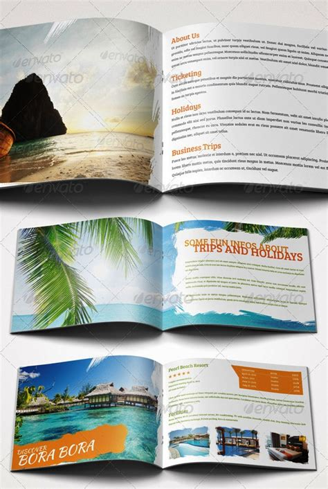 desain brosur free download 17 desain brosur tour dan travel template download premium