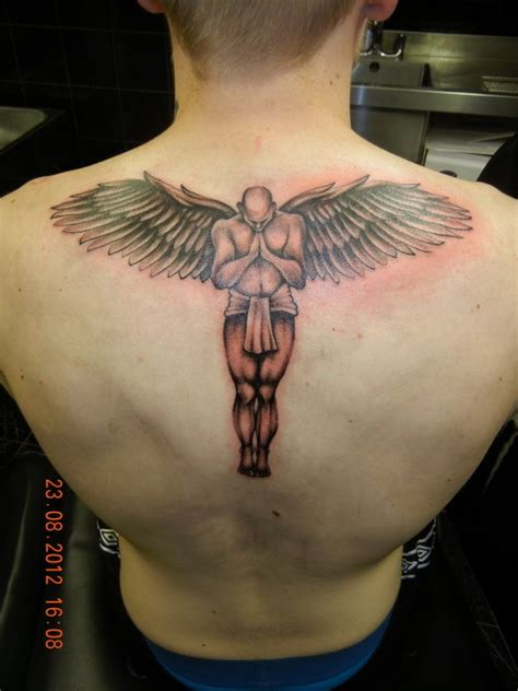 angel tattoo at the back angel tattoos designs ideas and meaning tattoos for you