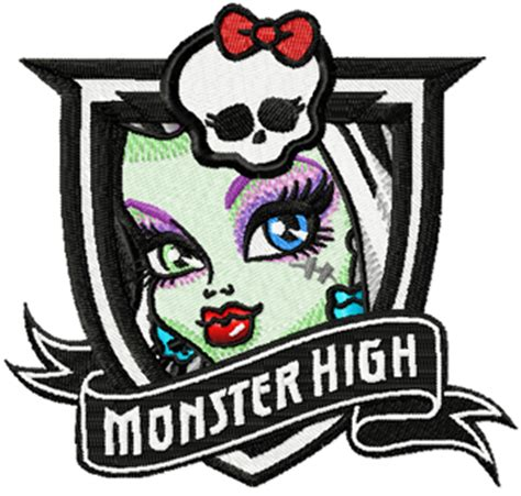 embroidery design monster high monster high frankie stein machine embroidery design
