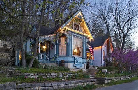 cottage inn state cliff cottage inn luxury b b suites and cottages in eureka springs ar b b rental