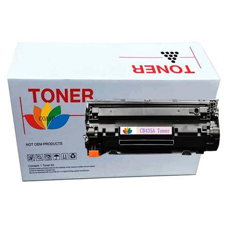 Hitamori Grosir Toner Laserjet Cb435a 35a Compatible 1x compatible hp cb435a 35a toner cartridge for hp435a laserjet p1005 p1006 p1007 p1008 p1005n