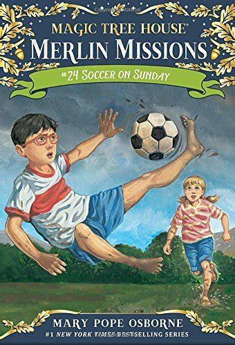magic tree house soccer on sunday soccer on sunday magic tree house r merlin mission sporting goods team sports