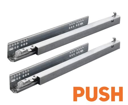 Push To Open Soft Drawer Slides by Salice Push To Open Extension Concealed Drawer Runners Salice Direct