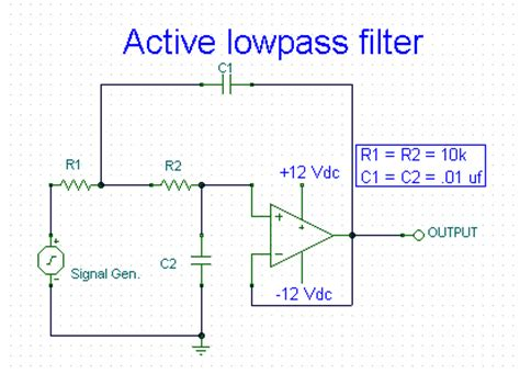 filter capacitor animation filters