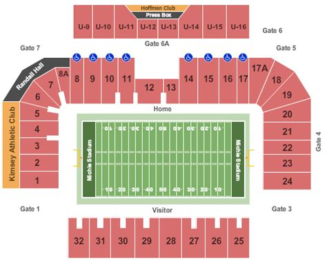 michie stadium seating chart michie stadium tickets west point ny michie stadium