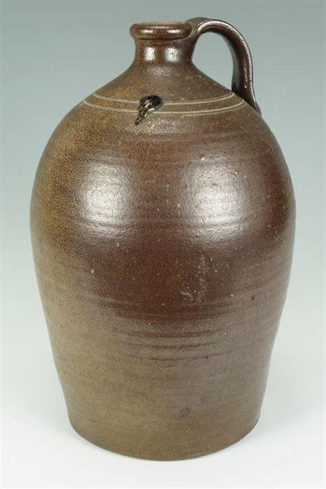carolina ceramics inc lot 100 nc pottery jug w w ballard