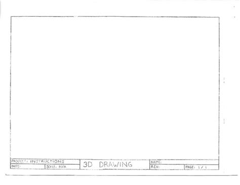 architectural templates for drawing title block west orange technology