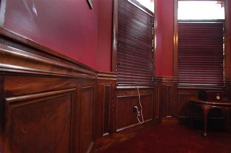 Cherry Wainscoting Panels by Wainscot The Wainscoting Shown Here Was Made Out Of Pine