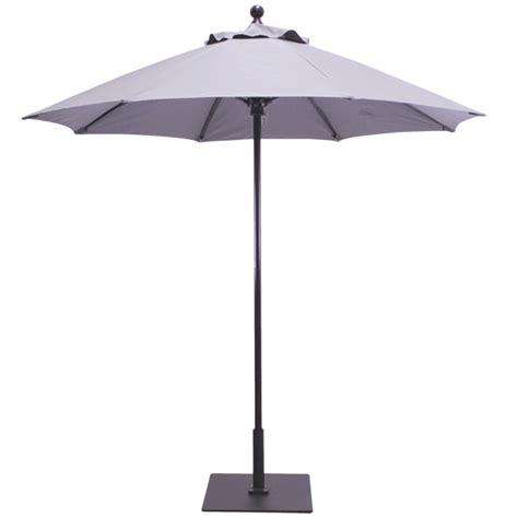 7.5' Aluminum Commercial Patio Umbrella with Fiberflex Ribs