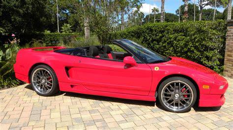 acura spider 1991 acura nsx spider convertible conversion mecum auctions