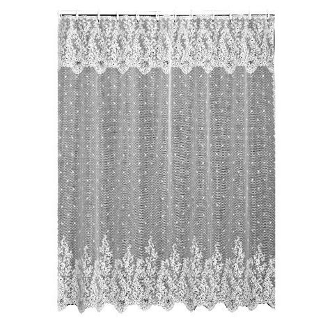 old fashioned lace curtains lace shower curtain vintage country with valance