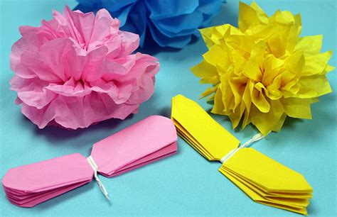 Make Tissue Paper Flowers - how to make tissue paper flowers hairstyles